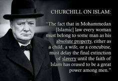 Winston Churchill quotes on islam