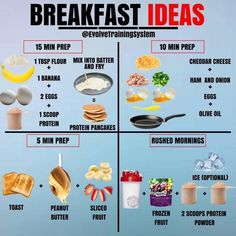Will Skipping Breakfast Make You Lose Fat Faster Breakfast Ideas for Everyone! Some mornings are rushed while others you have the time to sit down and have a nice meal. Healthy Meal Prep, Healthy Life, Healthy Recipes, Stay Healthy, Healthy Snacks, Healthy Workout Meals, Post Workout Snacks, Pre Workout Snack, After Workout Food