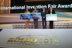 IFIA President, Alireza Rastegar, awards the best inventions of BIXPO 2016