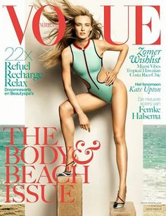 Ymre Stiekema Shows Off Her Summer Body on the Cover of Vogue Netherlands (Forum Buzz) - theFashionSpot#2