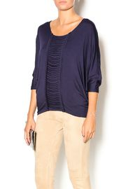 Ladder Dolman Top
