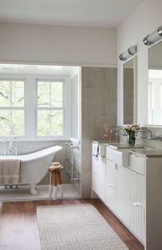 bathroom sinks Bathroom Farmhouse with bathtub bath mat
