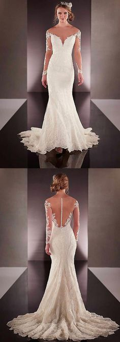 Elegant & Romantic Mermaid wedding Dresses / Gowns Ideas that comes in White, ivory.These Unique Vintage n Modest Fit and Flare Bride dress oufit is perfect for Rustic, Country, Indoor, Outdoor, Halloween, Bohemian / Boho, Beach, Winter, Fall Weddings reception.These are Simple, Elegant, Romantic n Beautiful Bridal Dresses Dress Inspiration that comes in Sleeve & Sleeveless, Open Back, Backless & Strapless. They have options like ball gown, lace, princess, open back, Boho, Plus size, A Line…