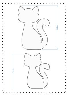 Bookmark Felt Cat – Sewing Felt rnrnSource by afranciscorosaa Cat Crafts, Sewing Crafts, Sewing Projects, Felt Patterns, Sewing Patterns, Felt Bookmark, Frantic Stamper, Fabric Toys, Paper Toys