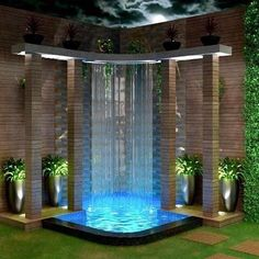 Backyard pool designs - 25 Awesome Inground Hot Tub Ideas That Will Drop Your Jaw joshhutcherson Small Backyard Pools, Backyard Patio Designs, Swimming Pools Backyard, Backyard Landscaping, Hot Tub Backyard, Inground Hot Tub, Jacuzzi Outdoor, Small Pool Design, Water Features In The Garden
