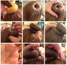 Wonderful making a Perfect Ballet Bun This will help you to make a neat bun in 2 minutes or under. I've seen these buns called sock buns, doughnut buns, and bun molds. This hairstyle is great Donut Bun Hairstyles, Up Hairstyles, Hair Bun Donut, Doughnut Bun, Diy Hair Bun, Hair Tie, Ballet Hairstyles, Fun Buns, Toddler Hair