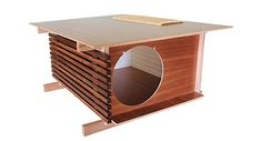 Modern Post and Beam Cat House From Davies Decor