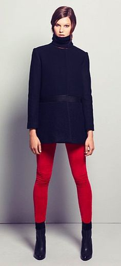 maje tailored coat - cool style