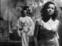 The Shanghai Gesture (1941) - Ona Munson and Gene Tierney