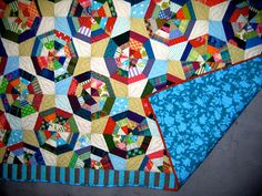 nifty quilts: Scrappy Spider Web