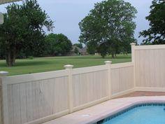 Privacy Vinyl Fence Dallas