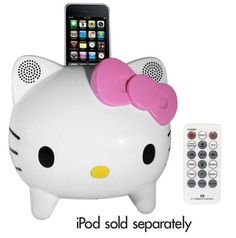 Hello kitty stereo