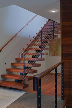 Check out our photo gallery of Modern Stair Railing Ideas.