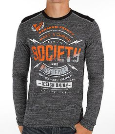 Society Static T-Shirt - Men's T-Shirts in Grey Black Mr Style, Mens Fashion, Fashion Outfits, Apparel Design, Mens Clothing Styles, Cool Tees, Street Wear, Men Sweater, Tee Shirts