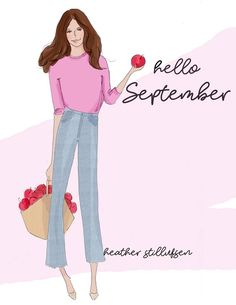 it's time for apple picking and tailgate parties.back to school and Fall arrives . September Quotes, Welcome September, Hello September, Neuer Monat, Hello Weekend, New Month, Months In A Year, Woman Quotes, Art Quotes