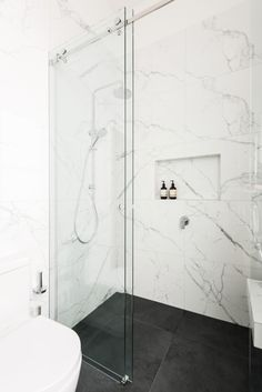 Small bathroom renovations: 9 clever design tips - The Interiors Addict, # . - Small bathroom renovations: 9 clever design tips – the interiors addict, - Small Bathroom Renovations, Bathroom Design Small, Bathroom Renos, Bathroom Interior Design, White Bathroom, Modern Bathroom, Master Bathroom, Bathroom Ideas, Bathroom Remodeling