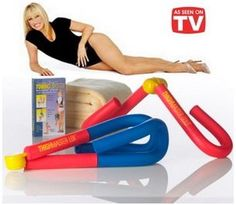Suzanne Somers Toning System Featuring Thighmaster Gold and Thighmaster Lol everyone had these