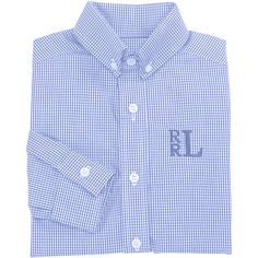 Our Rags Land Blue Classic Checks Shirt! Shop NOW at www.ragsland.com
