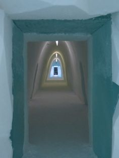 Corridoio - Corridor (Gabriele Formentini, Ice Hotel Jukkasjärvi)