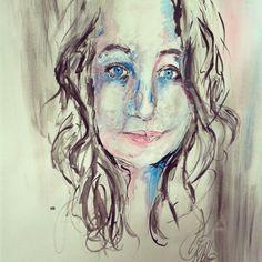 Self-portrait Acrylic