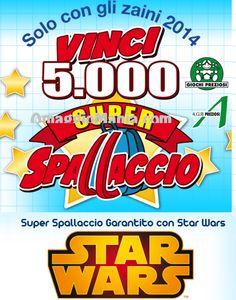 """Super Spallaccio: premio sicuro con acquisto zaino Giochi Preziosi """"Star Wars"""" e concorso a premi - http://www.omaggiomania.com/concorsi-a-premi/super-spallaccio-premio-sicuro-acquisto-zaino-giochi-preziosi-star-wars-concorso-premi/"""