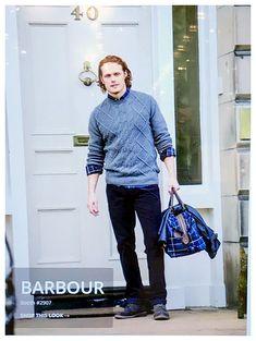 Outlander News Sam Heughan Barbour Global Brand Ambassador
