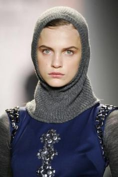 Even though in this image is shows a women wearing choperone it was men that wore hoods during the Late Middle Ages. Also garment making changed as well. Before garments were always T-shaped but then became a sewn item. Sleeves were sown on to the bodice which made arm movement easier.