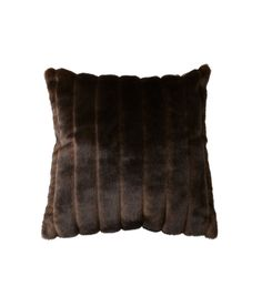 faux fur pillow. obsessed.