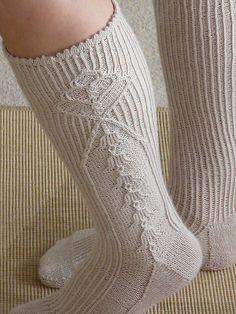 (Ravelry: Project Gallery for Modell 4331 Kniestrümpfe pattern by Schachenmayr) Crochet Socks, Knitting Socks, Crochet Stitches, Hand Knitting, Knit Crochet, My Socks, Cool Socks, Knitting Patterns, Crochet Patterns