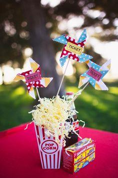 whimsical circus/retro themed wedding, flip through the images, so cute!