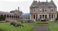 The slightly eccentric yet strikingly beautiful Castle Leslie in County Monaghan dates back centuries.