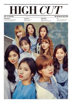 Twice Lends Their Chic Fall Beauty For 'High Cut'