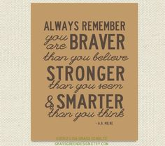 Winnie the Pooh Quotes For Baby's Nursery