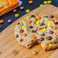 A monster sized cookie for your giant peanut butter craving...