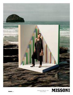 Fashion Ad: Stella Tennant in Missoni Fall 2013 Campaign by Alasdair McLellan