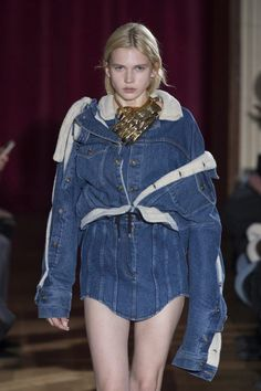 Denim total looks are center stage again this Fall