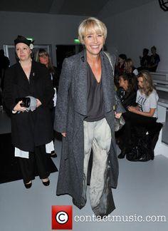 Emma Thompson at London Fashion Week
