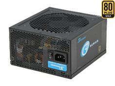 SeaSonic SSR-450RM 450W ATX12V / EPS12V SLI Ready CrossFire Ready 80 PLUS GOLD Certified Modular Active PFC Power Supply ...