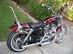 Let's see your solo seat Sportster's ! - Harley Davidson Forums