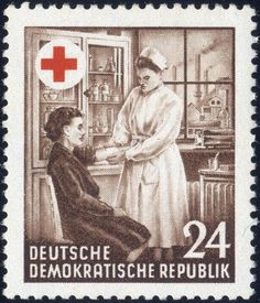 24 Pf. red cross 1953, very rare superb item with XI watermark. And old examination Müller (900,- for *)    Dealer  Fischer Thomas Auktionshaus    Online Auction  0 bid(s)    Start price:  180.00 EUR  Auction ends at 30.01.2013!