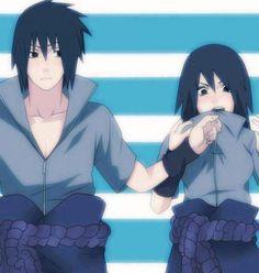 ~ Sasuke and..... um....... female Sasuke >_> ~