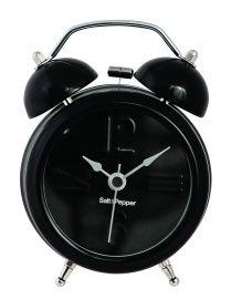 Wekker 9cm Zwart S&P