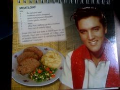 ELVIS MEATLOAF WITH MAUREEN  Its another celebrity recipes from Maureen from Georgetown South