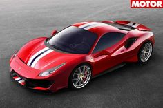 The next 488 has been confirmed by Ferrari as a 537kW Prancing Horse from Hell