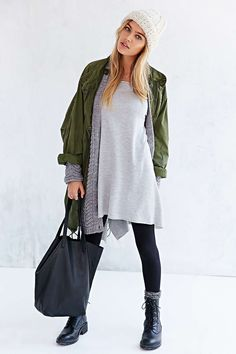 Project Social T Off-The-Shoulder Tunic Top - Urban Outfitters