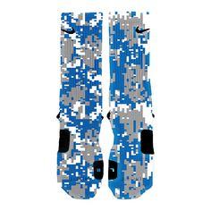 Custom Nike Elite Socks Kd LeBron Kobe All Sizes by HoopSwagg
