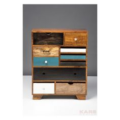 Commode Malibu 10 Tiroirs Kare Design