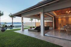 Bunk Rooms, Mirror Image, Patio Ideas, Interior Ideas, Villa, Backyard, Bedroom, Outdoor Decor, House