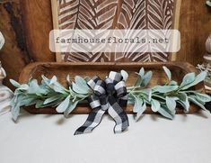 Lambs Ear Swag Farmhouse decor fixer upper gifts for her image 6