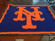 New York Mets Baby Blanket